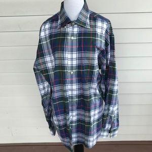 Men's Vineyard Vines Plaid Long Sleeve Shirt